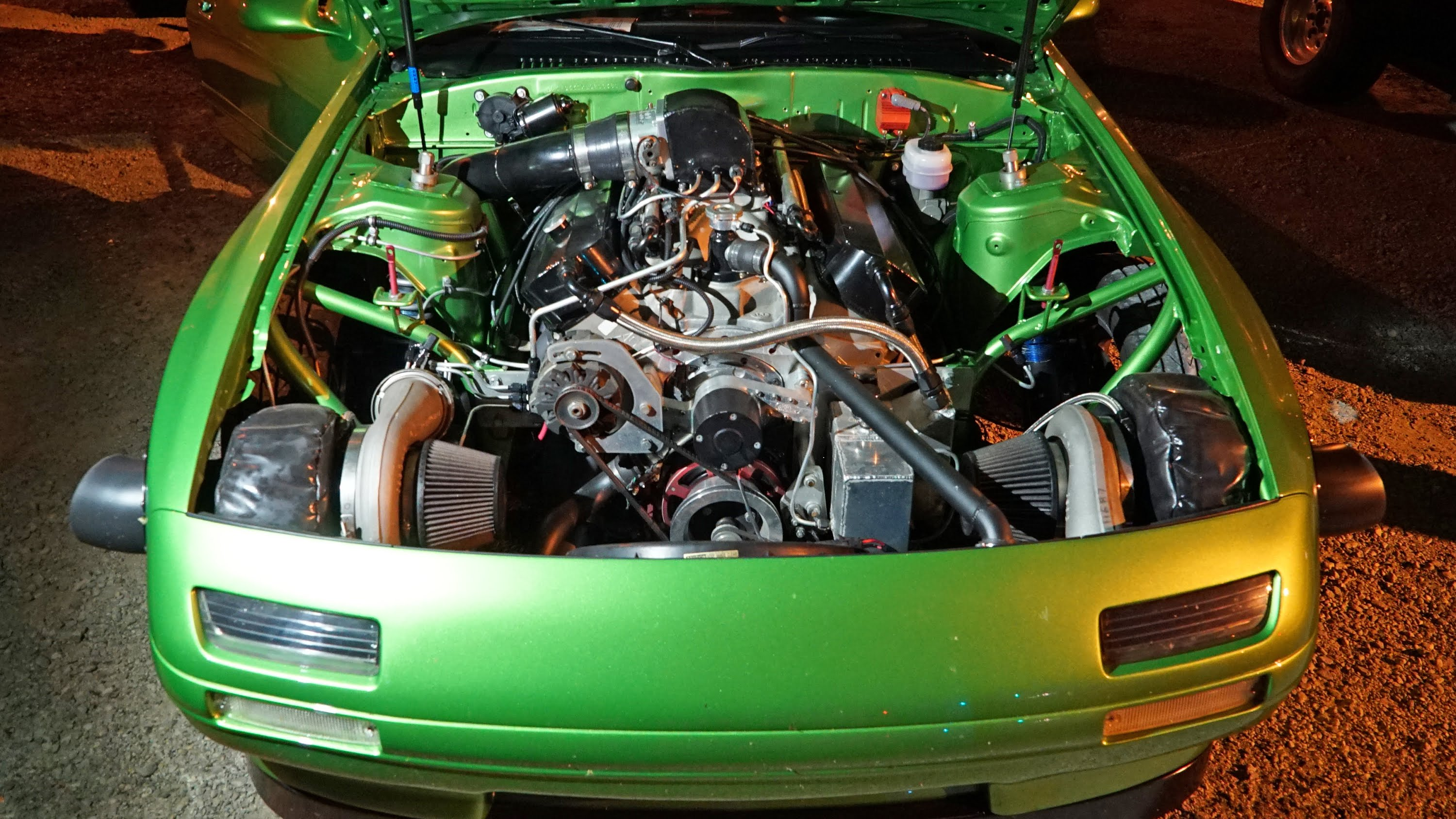 Twin Turbo Mazda RX-7 Turns 8.1-Second Quarter-Mile