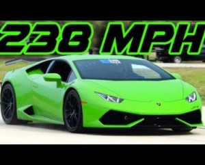 2300HP TT Lambo Huracan Breaks Half-Mile Record 238 MPH