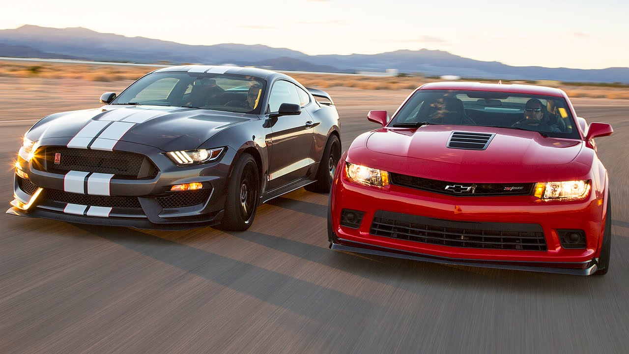 Head-to Head – 2015 Camaro Z28 vs. 2016 Shelby GT350R