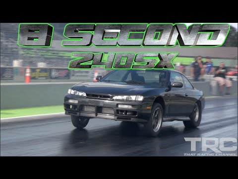 Toyota Powered 240SX Runs 8.09 @ 175 MPH
