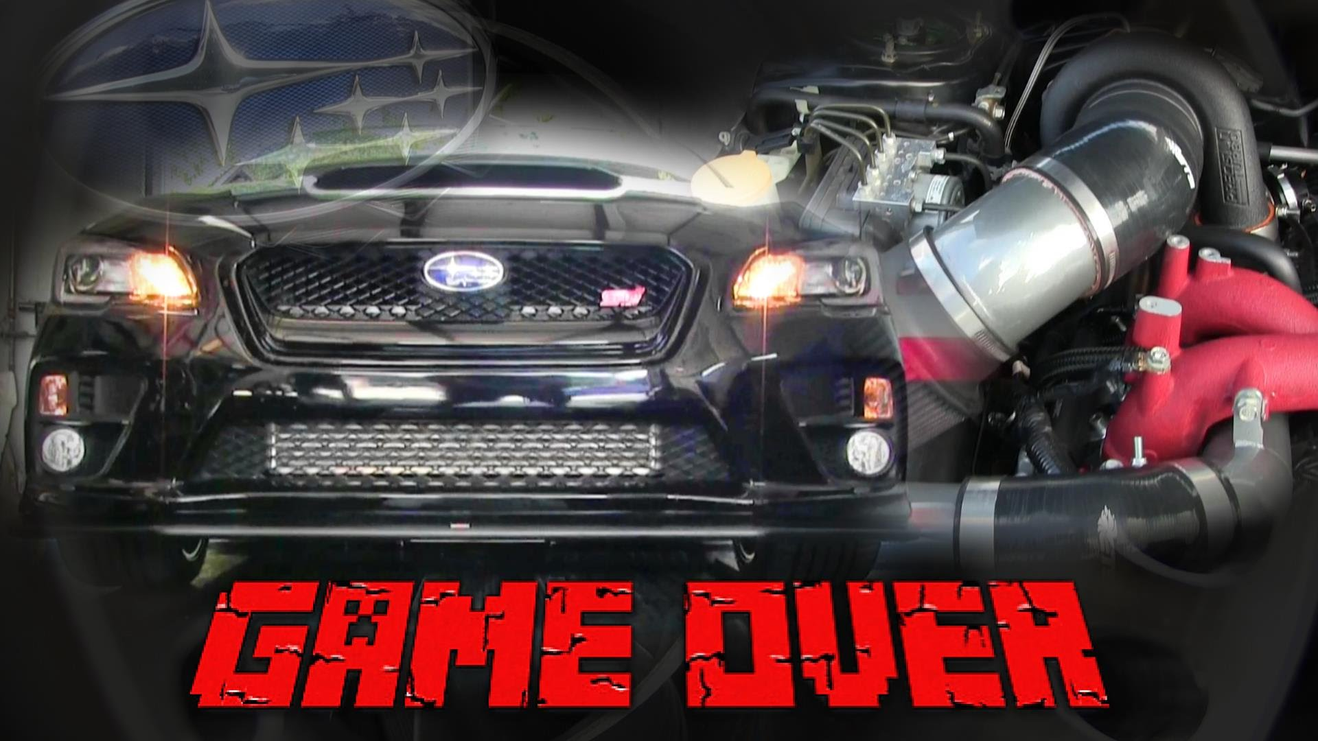 'Game Over' Subaru STi Delivers 700WHP