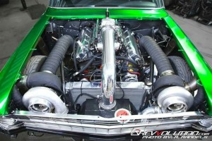 The Incredible Hulk - 2500HP Chevy II Nova 01