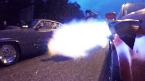 Turbo Audi Blow Torch Street Racing
