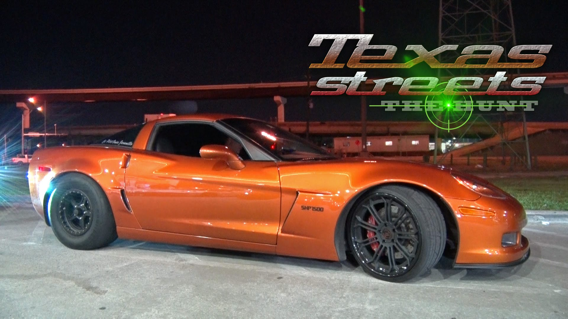 1400HP Vette Tames the Texas Streets