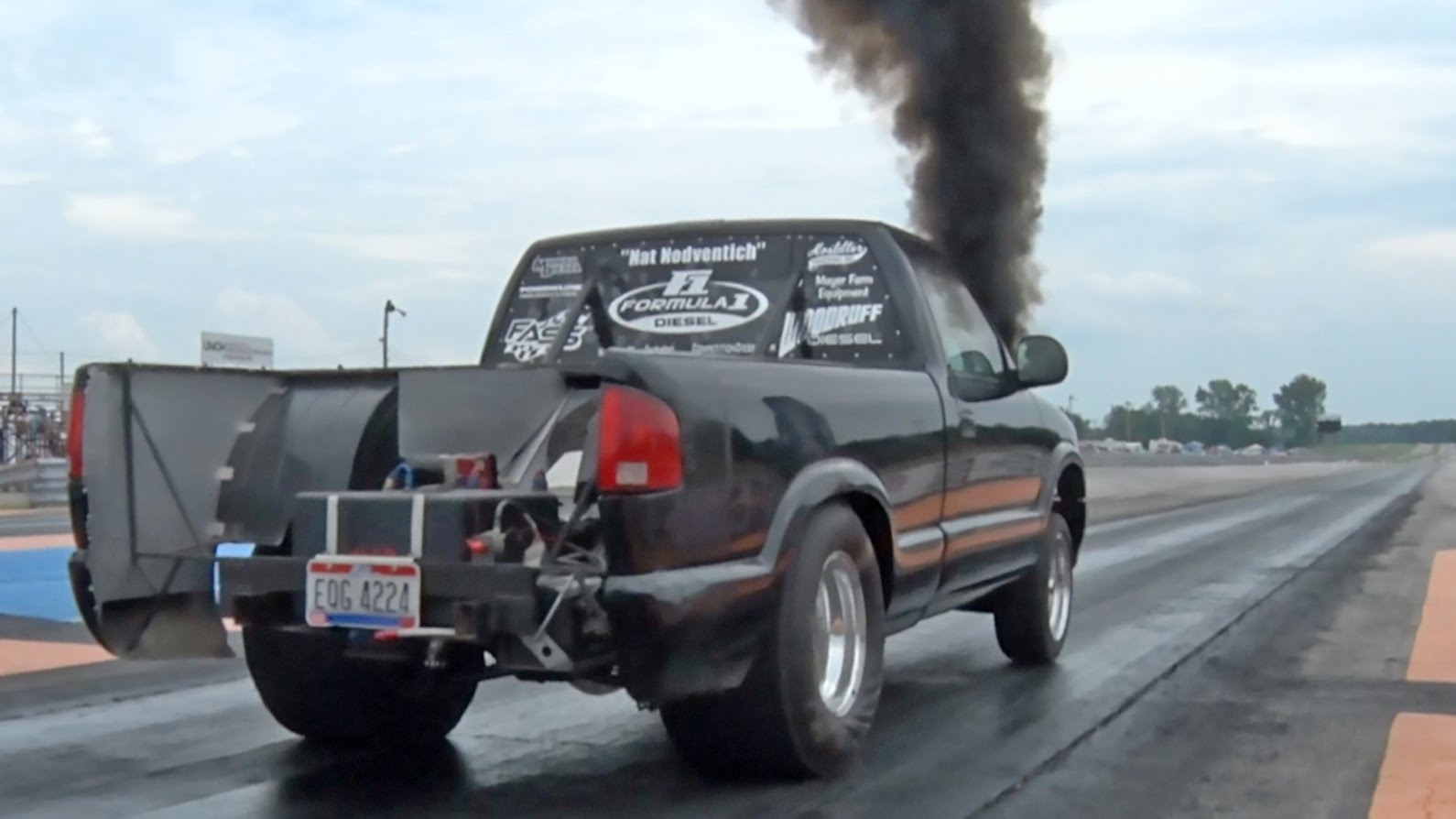 Diesel Truck Drag Racing Vs Car