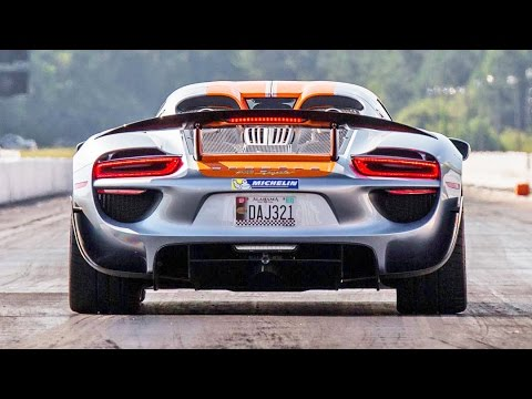 Porsche 918 Spyder – Roll and Dig Racing