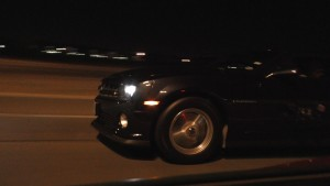 Street Battle - Camaro vs Corvette