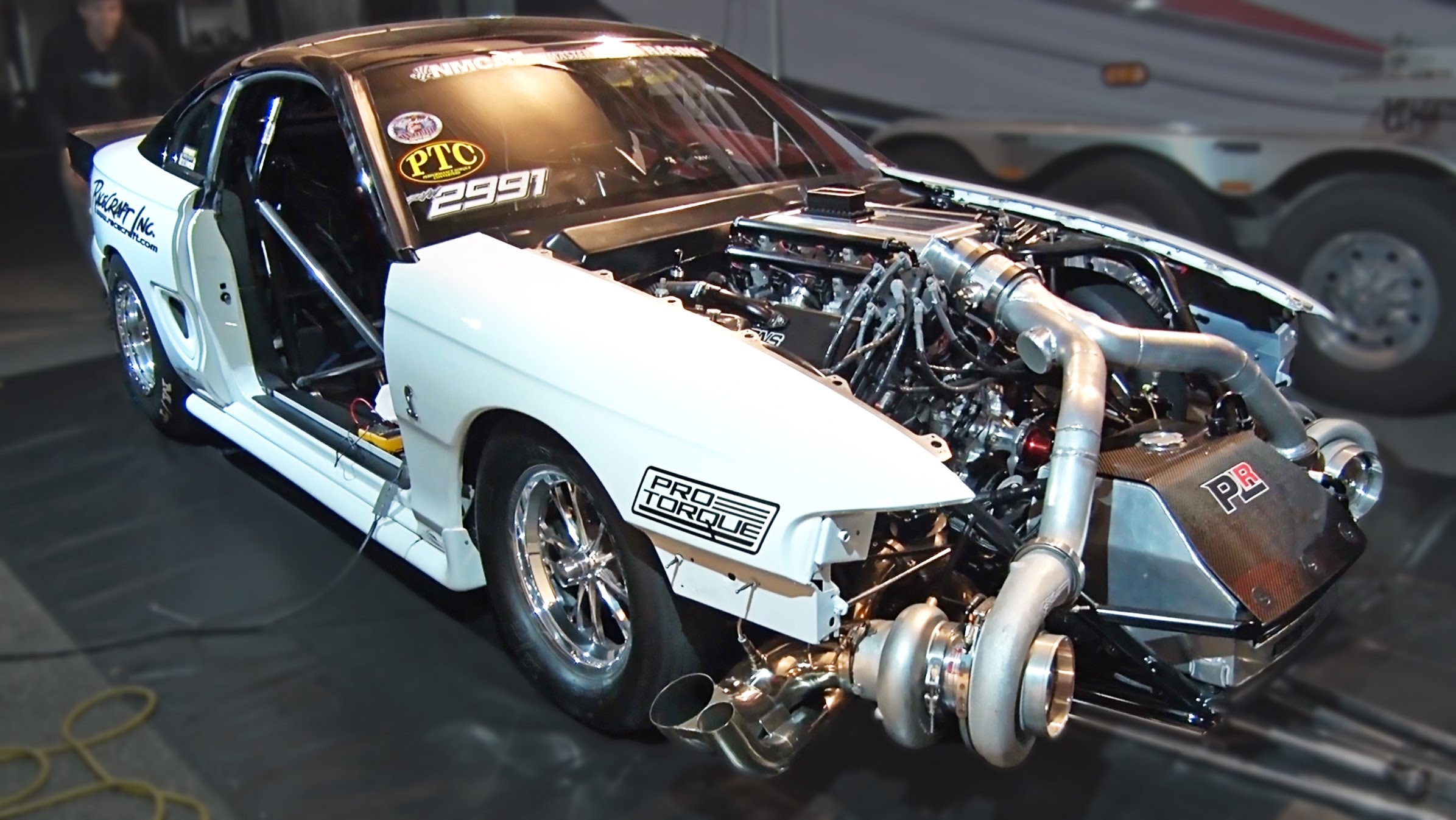 Tt Mustang Runs 209 Mph In Eighth Mile Dragtimes Com
