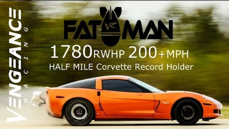 Twin-Turbo Vette Half-Mile World Record Holder