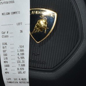 World Record Quarter-Mile Pass for OBP Lambo