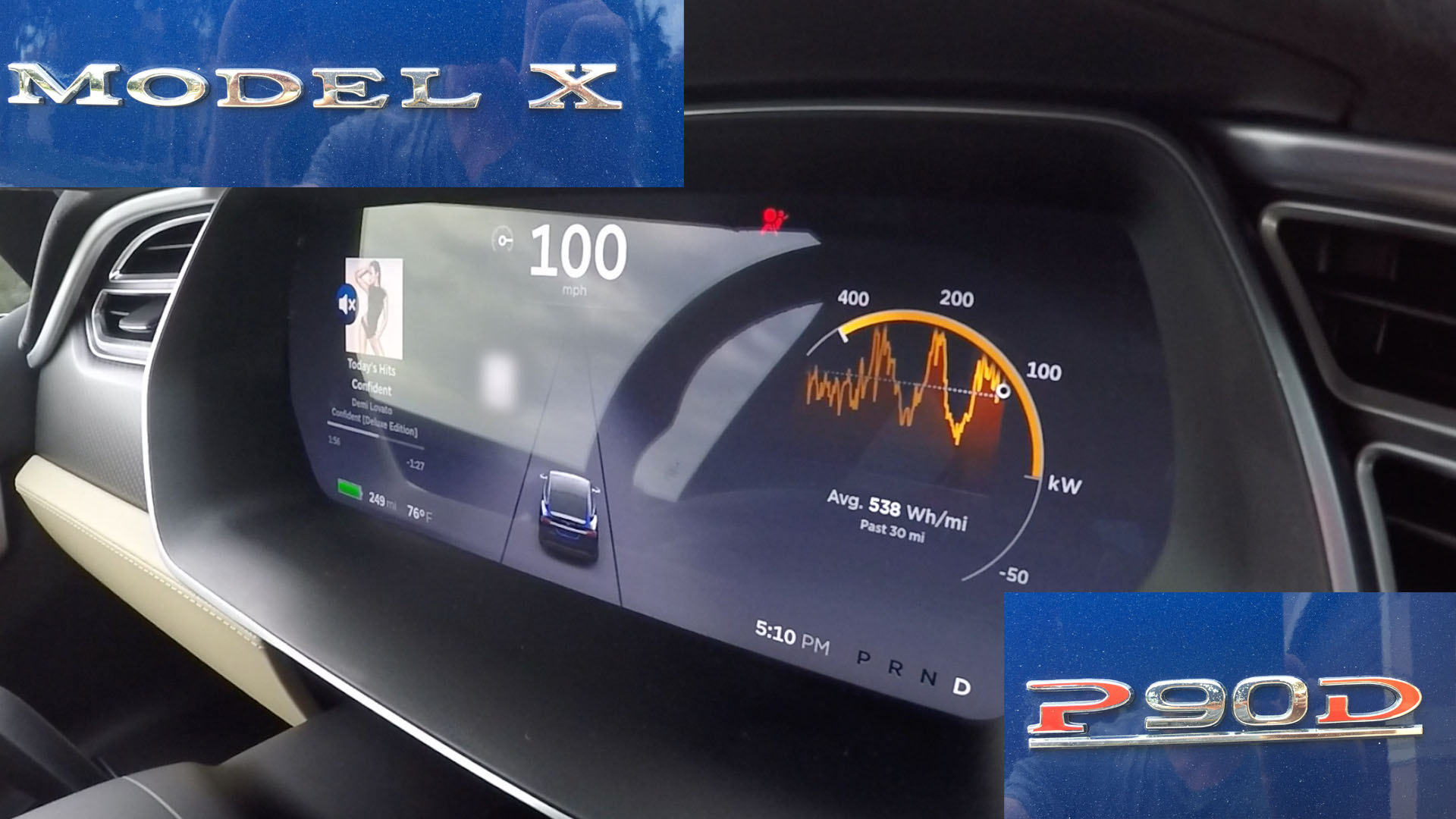 Worlds Quickest Production SUV Tesla Model X P90D Ludicrous 0-60, 0-100 MPH Testing