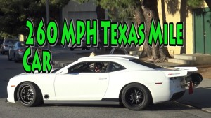 260 MPH COPO Camaro Texas Mile Car