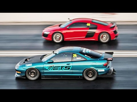 Roll Racing - Acura vs Audi
