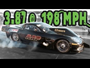 V6 Corvette is World's Fastest 10.5-Inch Tire Car