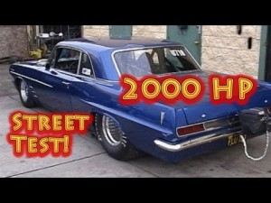 2000HP NRE Pontiac Tempest - Dyno and Street Test