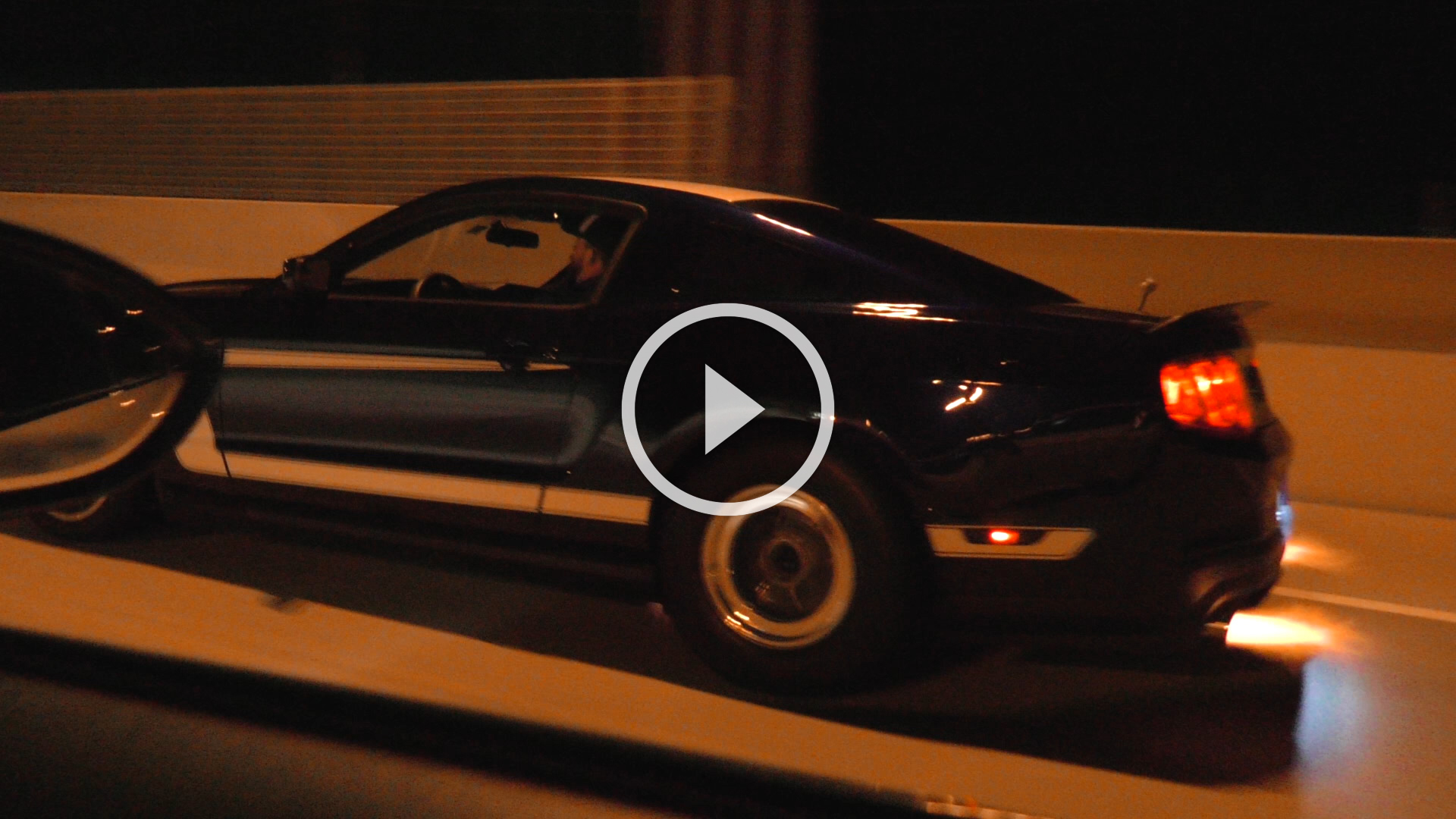 Street Racing - Blown BMW M3 vs. Mustangs