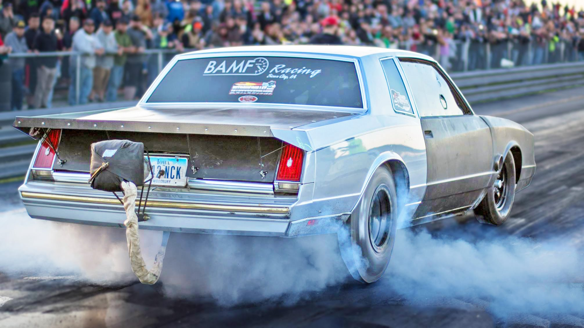 Big Block Cutlass Wins No Prep Event