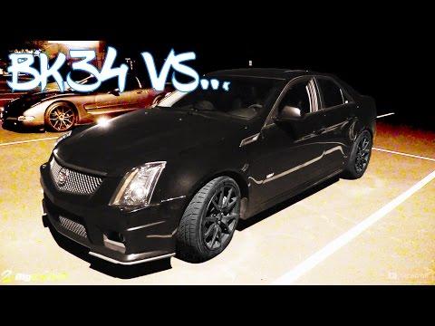 Corvette Z06 vs. Cadillac CTS-V