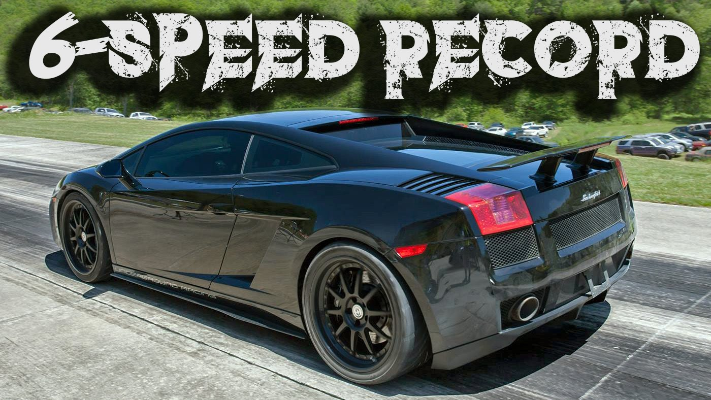 TT Lambo Posts 6-Speed Half-Mile World Record