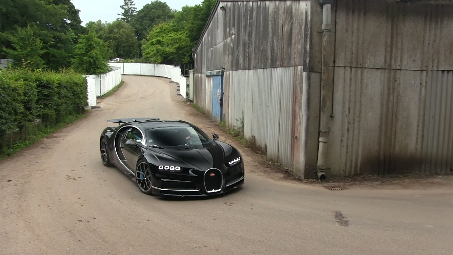 1500HP Bugatti Chiron at Goodwood