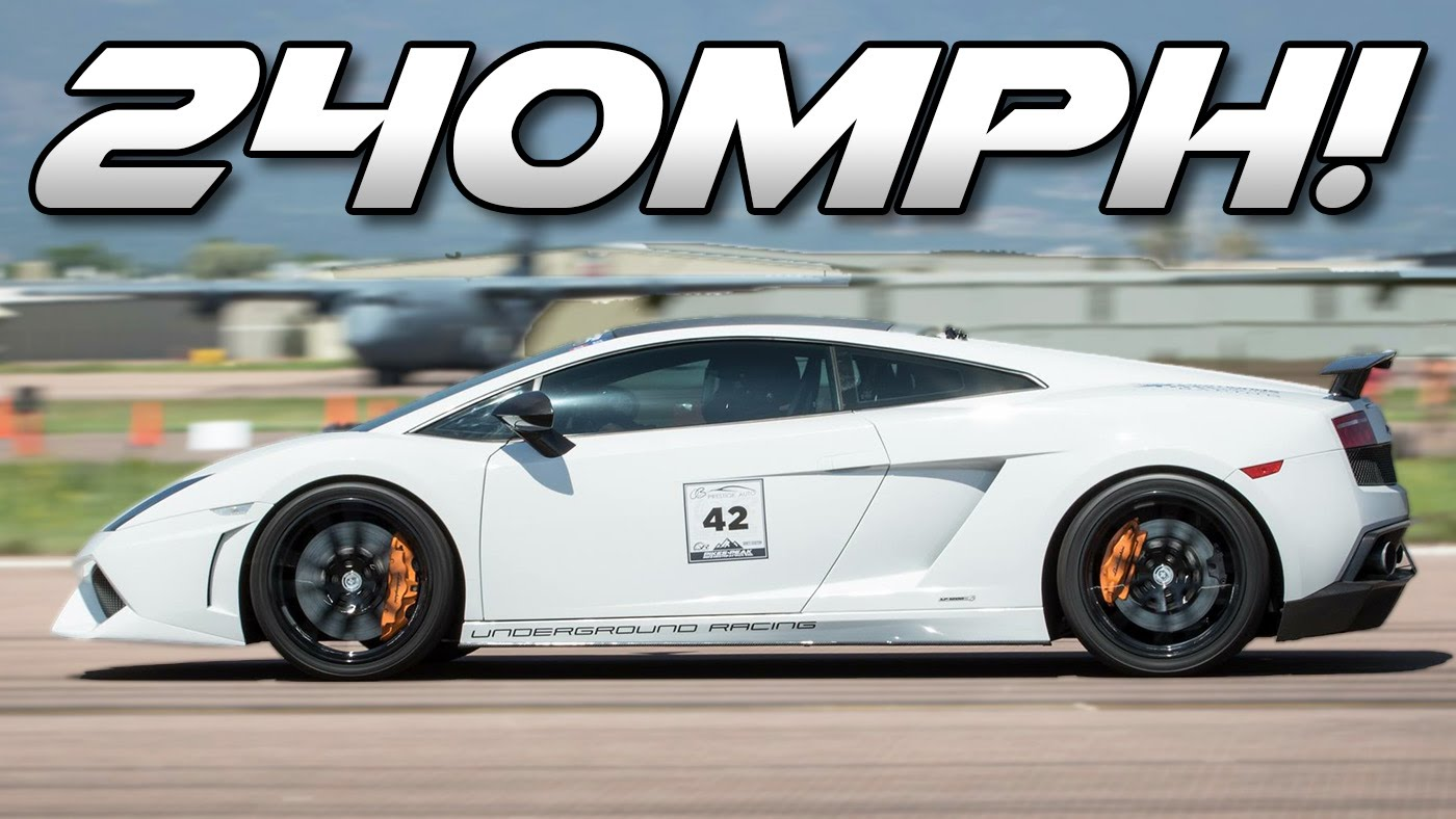 240 MPH Half-Mile World Record