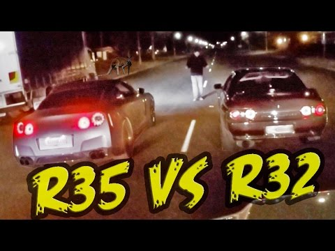 Aussie Street Racing - R32 & R35 GT-Rs