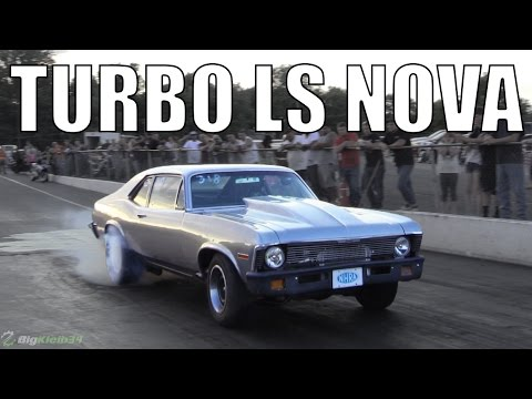 Corvette Z06 vs. Old School Turbo Nova