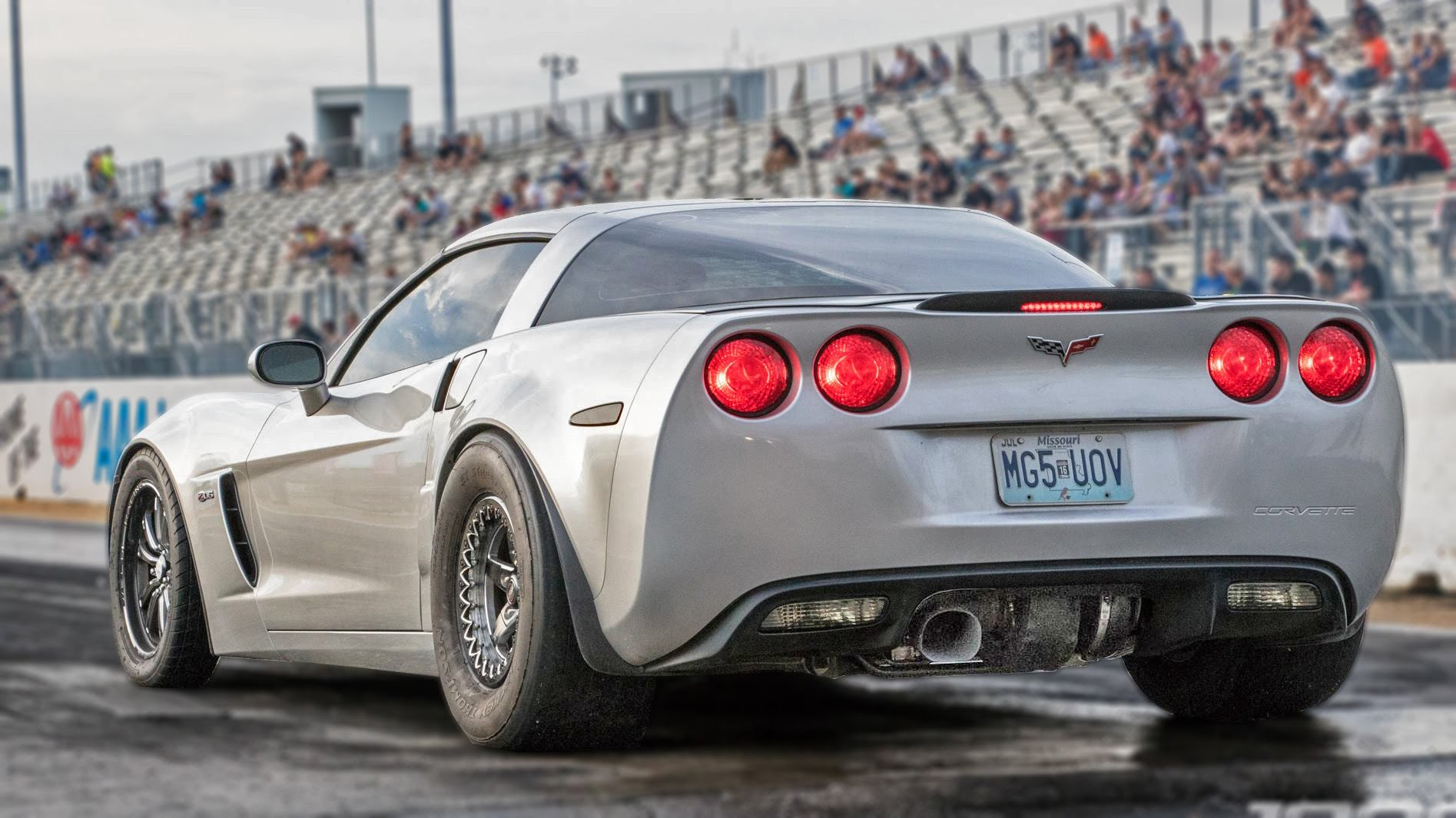 Corvette Z06 with Rear Mount Turbo