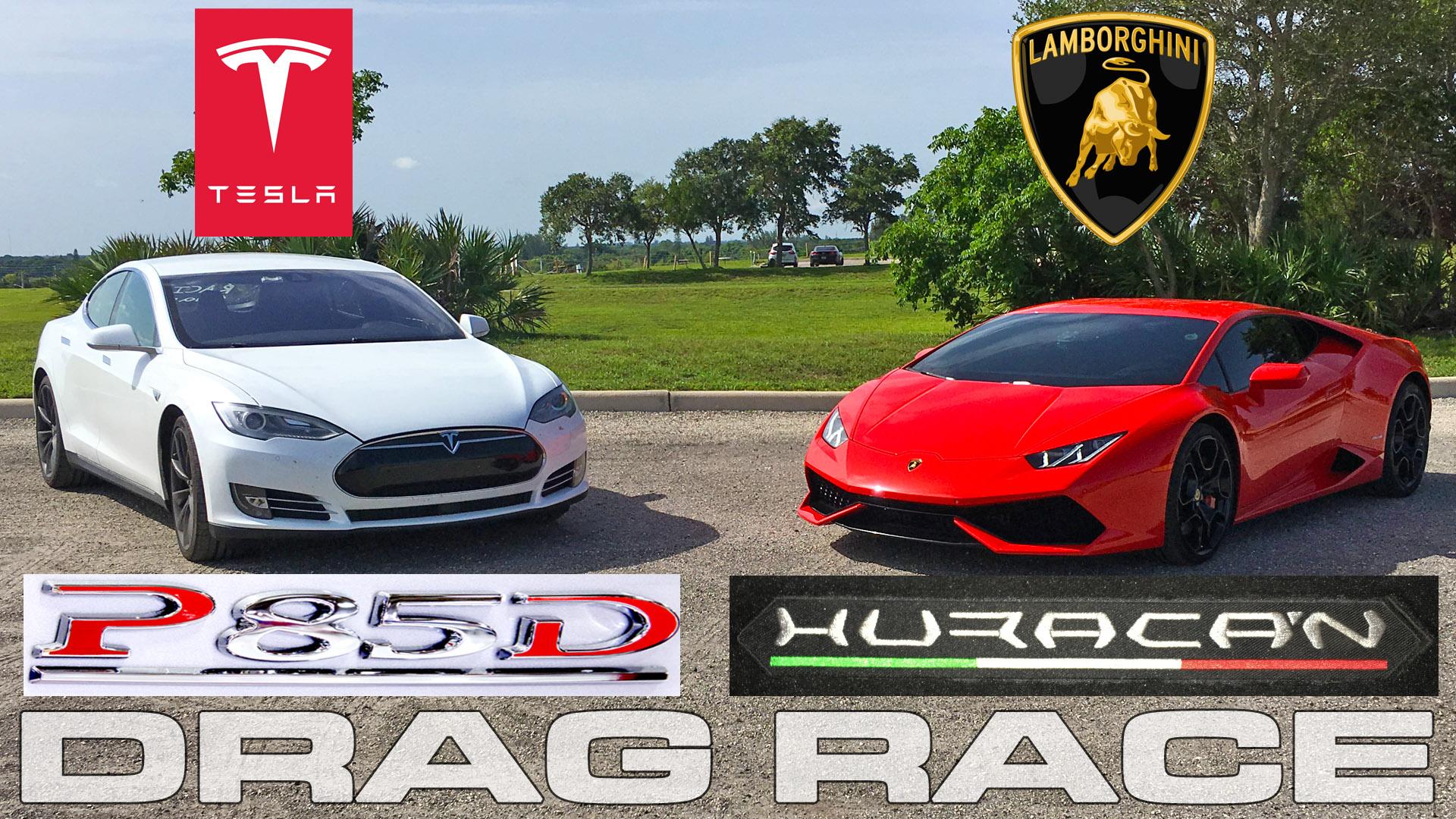 lamborghini-huracan-vs-tesla-p85d-ludicrous-drag-racing