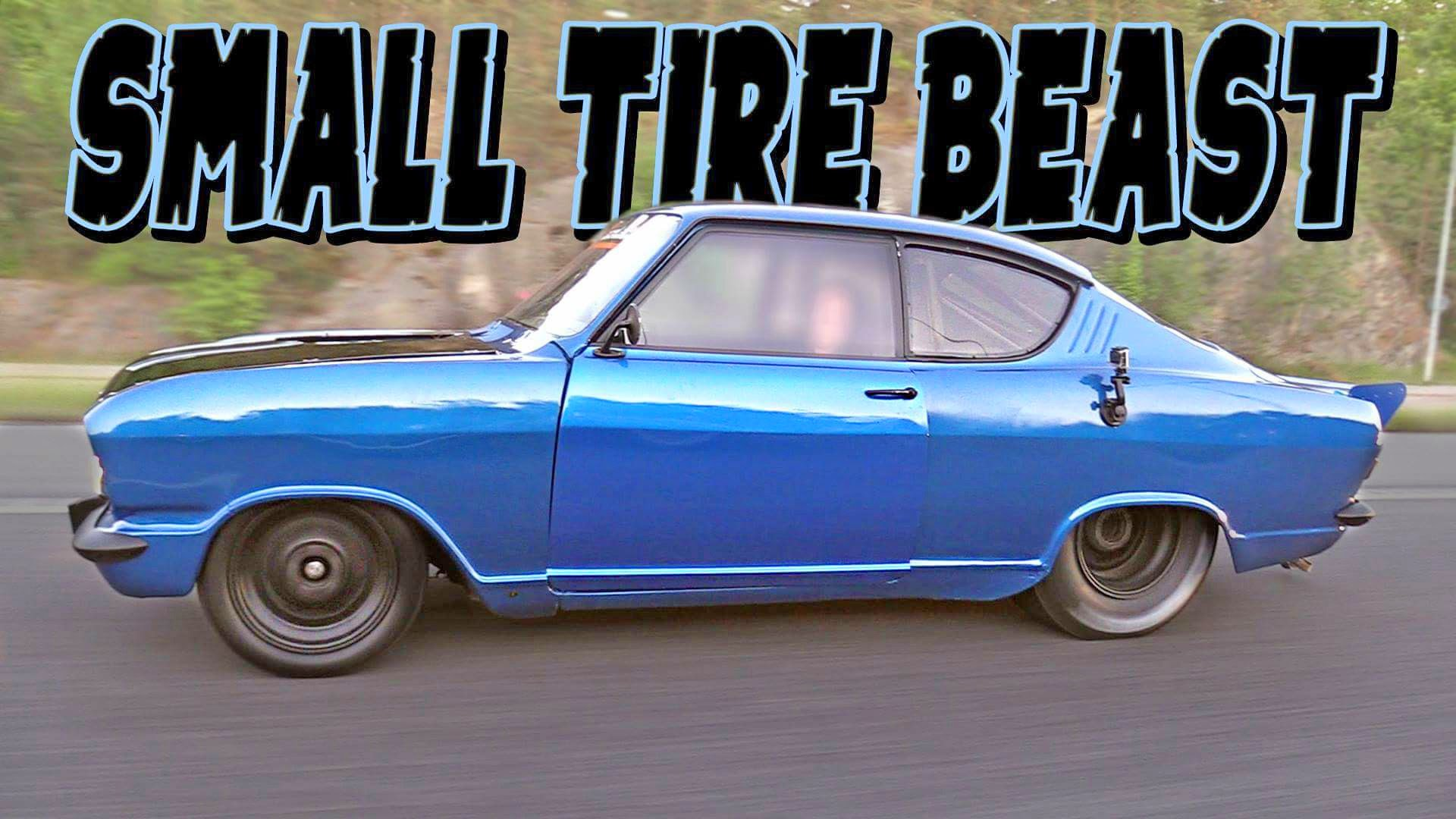 1100HP Opel Kadett Street Beast