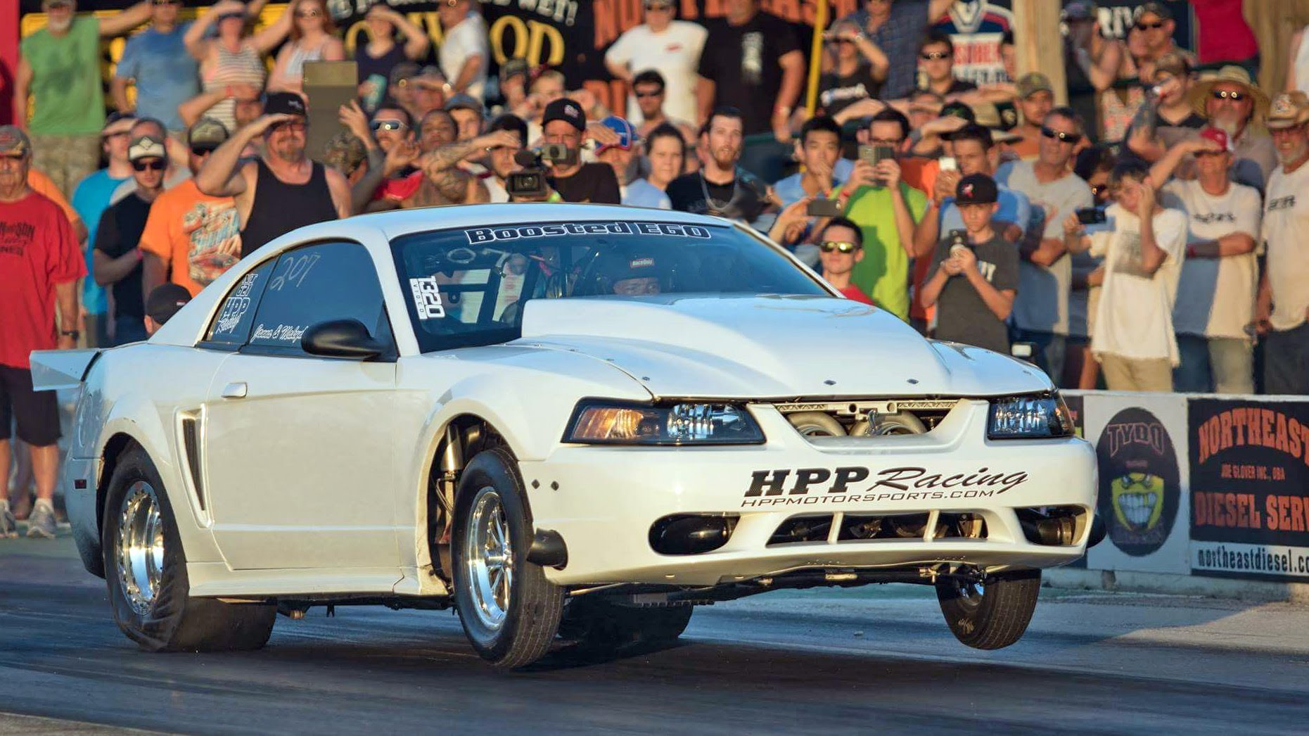 3000HP Ego Mustang