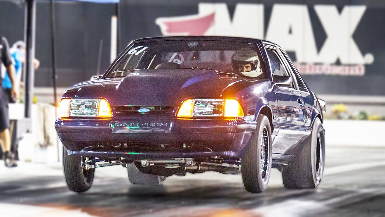 8-Second Manual Transmission Fox Body Mustang