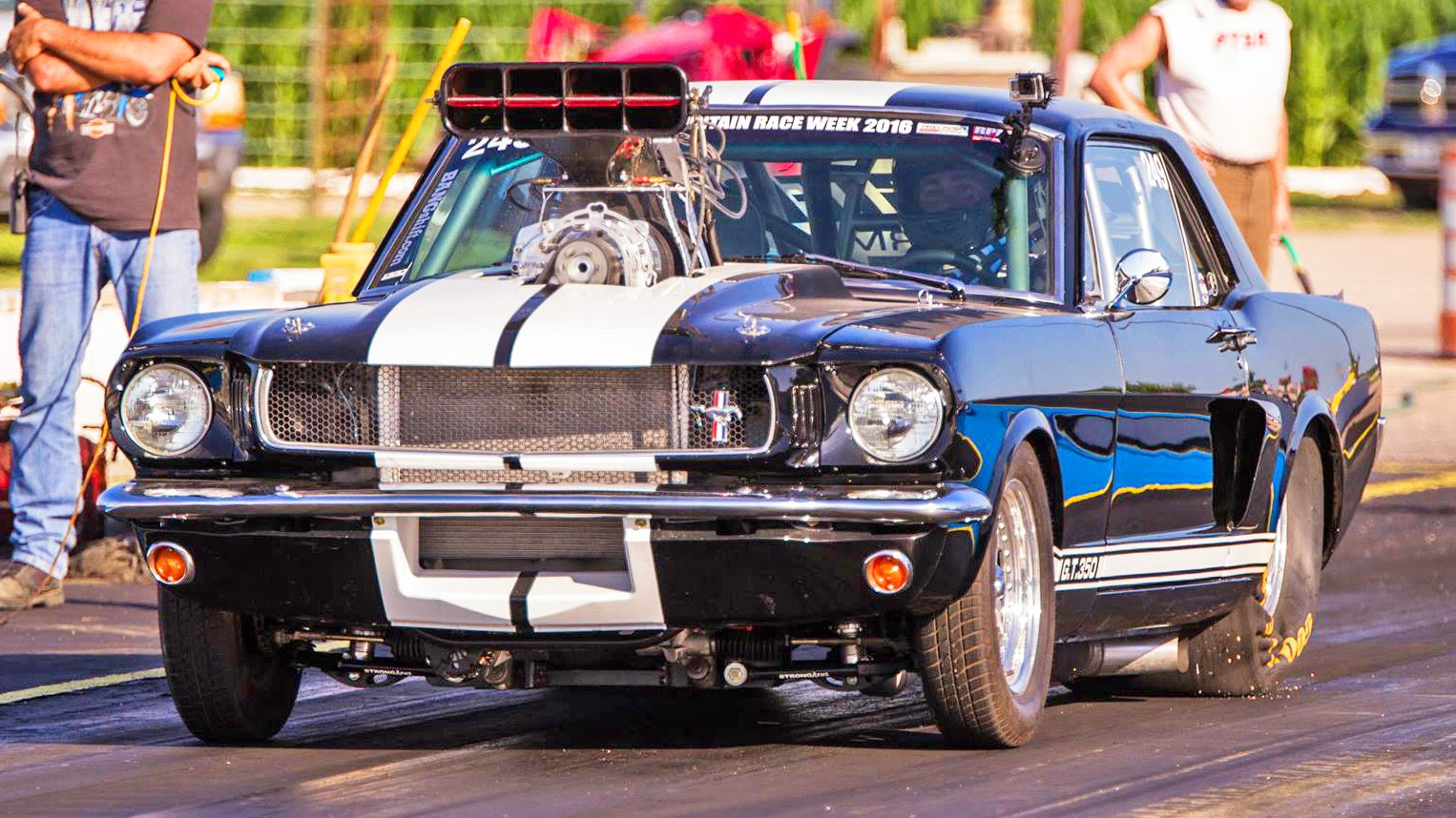 Rocky Mountain Race Week – Blown Mustang | DragTimes.com ...
