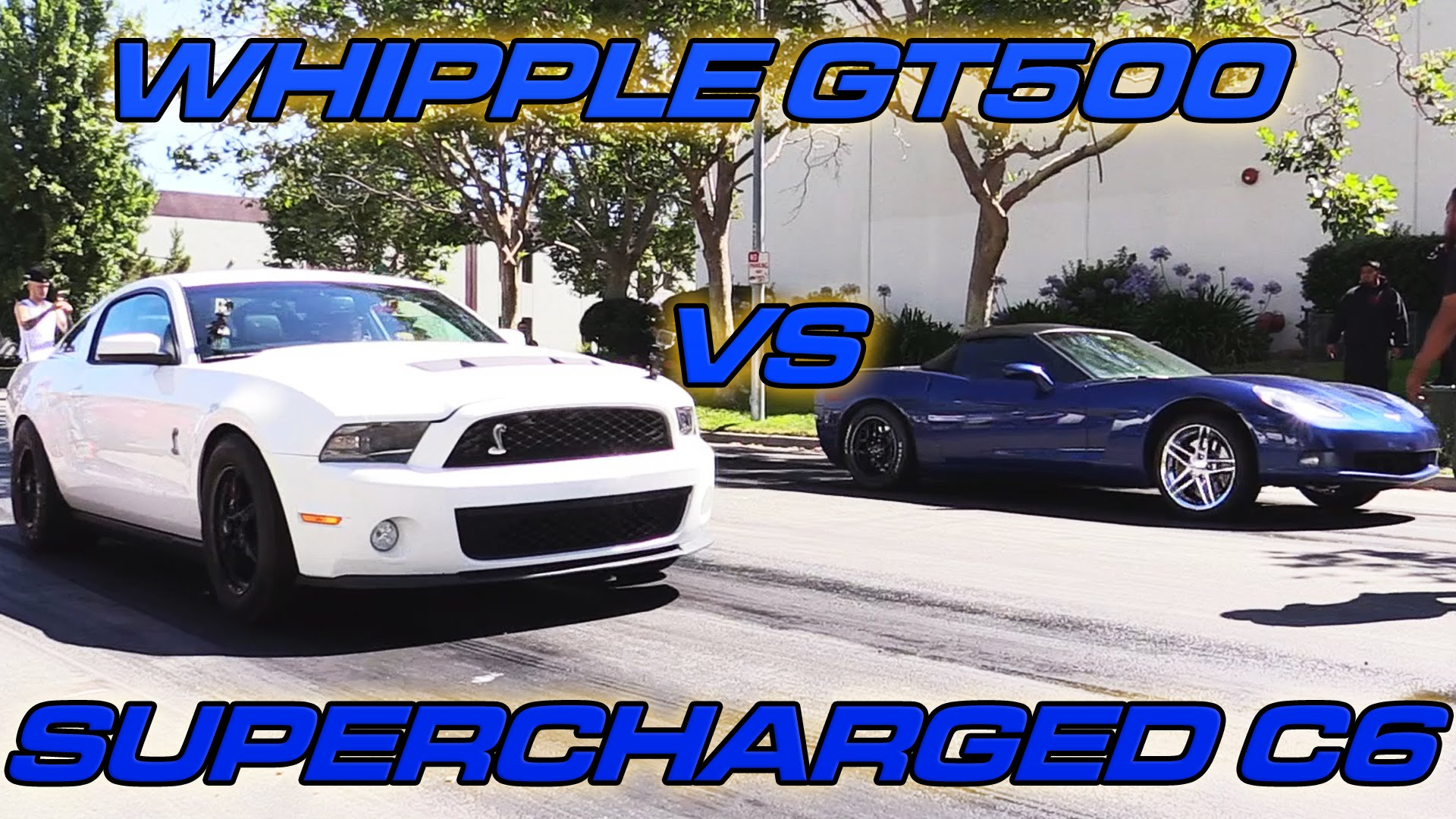 Street Race - Corvette vs. Shelby GT500