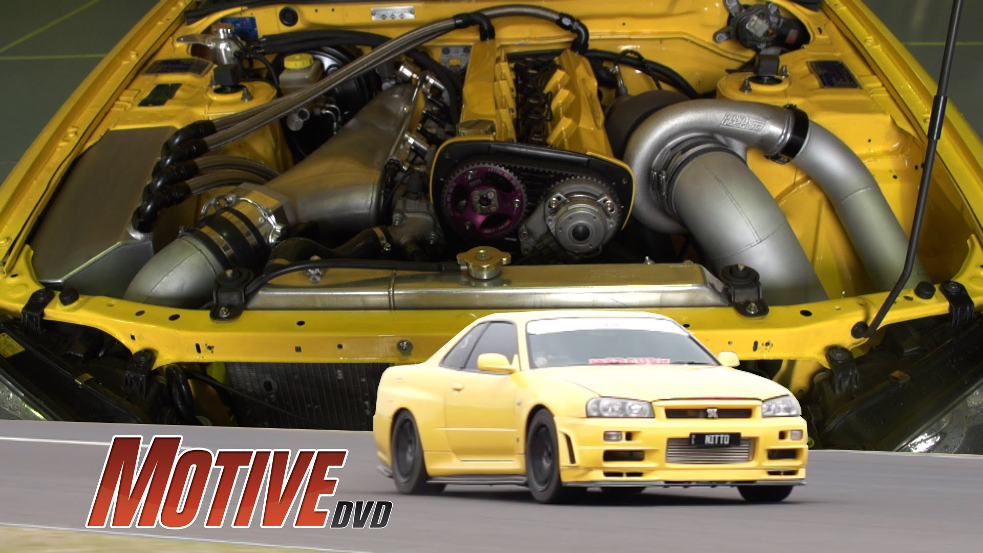 True Street - 1100HP Nitto R34 Skyline GT-R