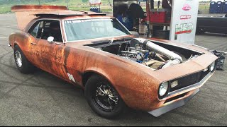 1400HP Rusty Camaro Takes Roll Racing Top Speed 1