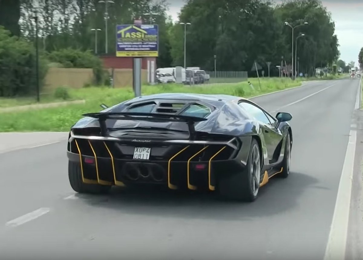 759HP Lamborghini Centenario Hits the Street 01