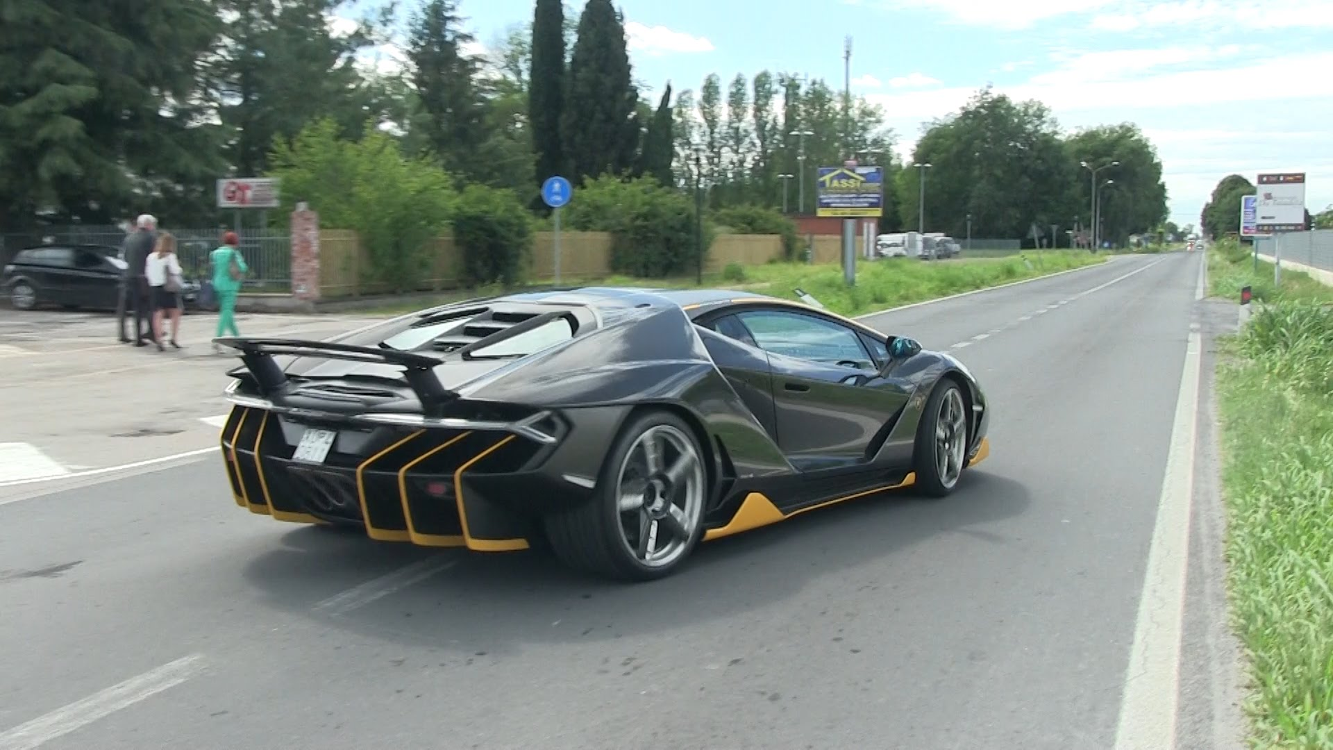 759HP Lamborghini Centenario Hits the Street