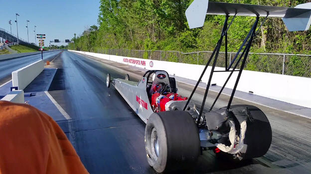 Full Electric Dragster Posts 7.24-Second Quarter-Mile