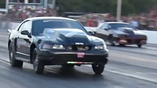Outlaw Armageddon - BOOST12 Mustang Dominates Small Tire Class