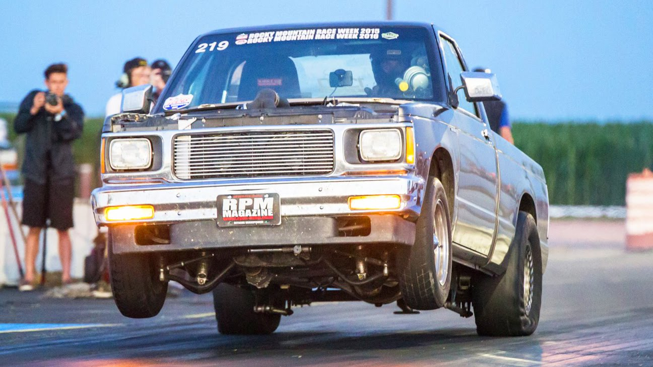 Twin Turbo S10 Posts 8-Second Quarter-Mile
