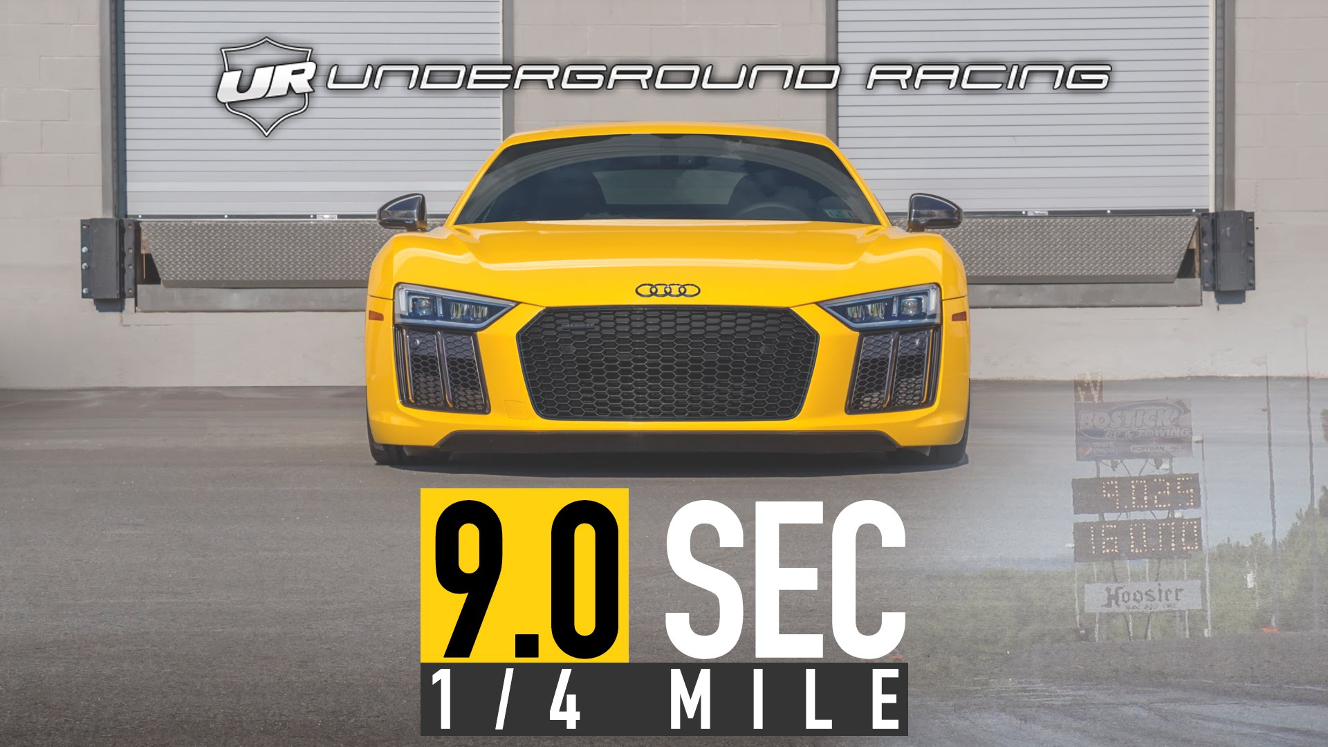 World Record Quarter Mile Pass – Audi R8