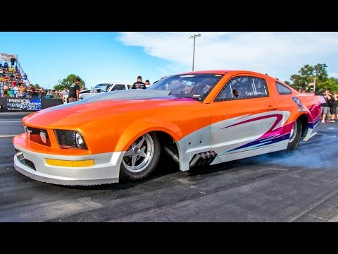 Kayla Morton's Procharged Mustang