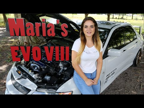 Meet Maria – The Perfect Car Girl