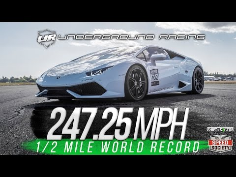 New Half-Mile World Record