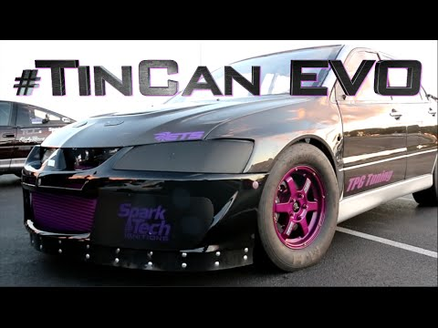 Tin Can Mitsubishi Evo - Stock ECM World Record