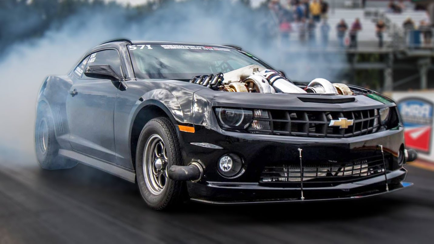 Twin Turbo 7-Liter Camaro Wins 2016 Hot Rod Drag Week ...