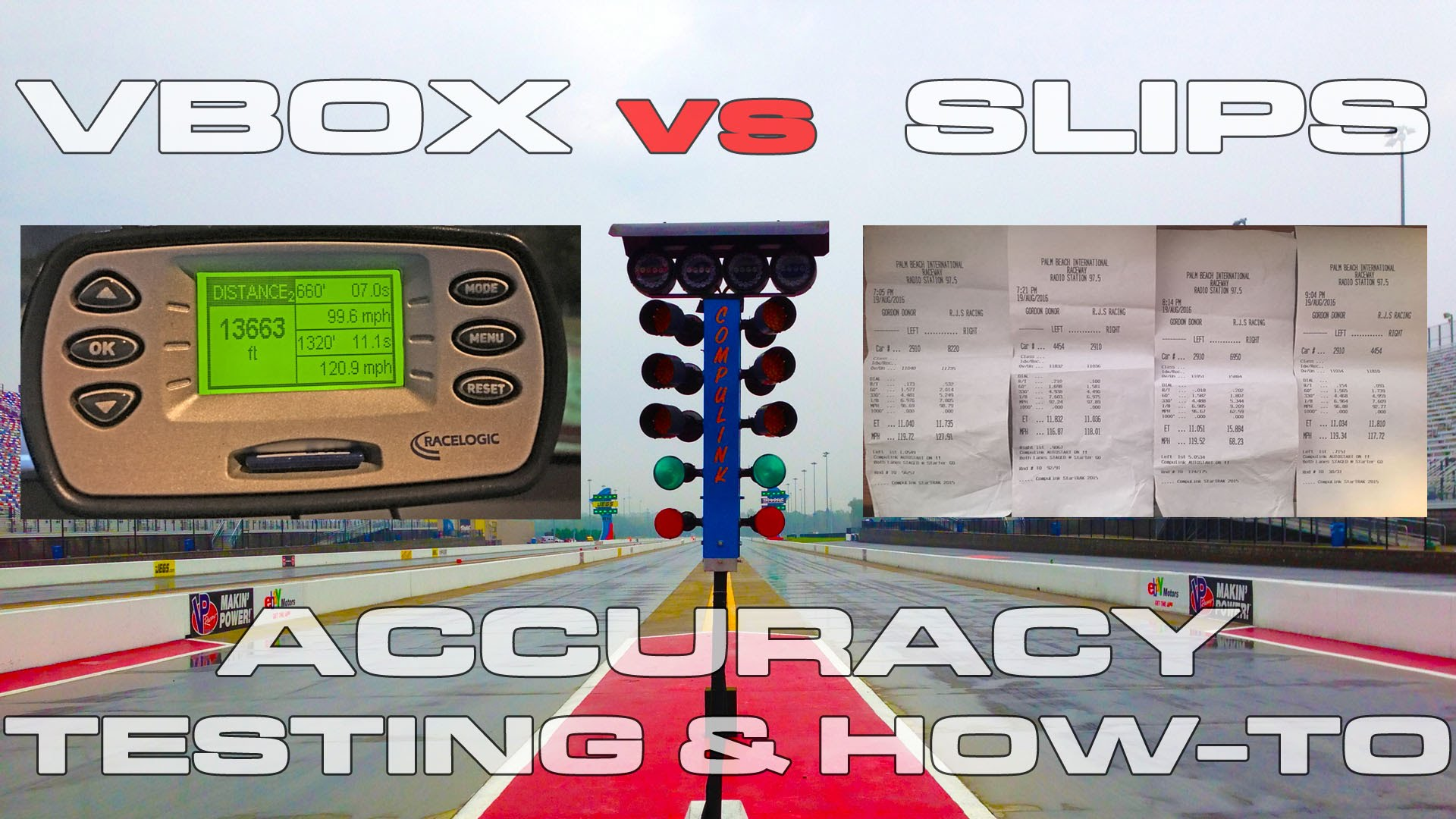 Racelogic VBOX Sport Performance Box Review and 1/4 Mile Accuracy Testing