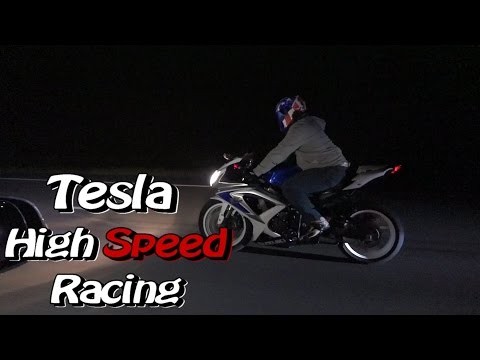 Tesla P90D Street Racing – Roll and Dig Domination