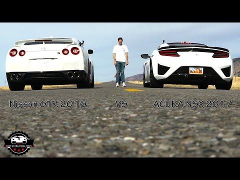 Desert Street Duel – Acura NSX vs. Nissan GT-R